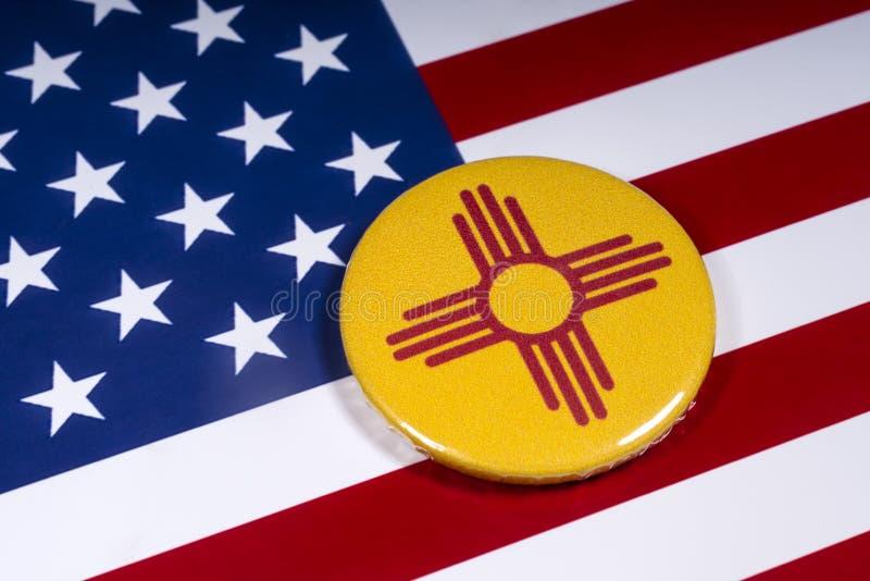 Estado de New México en los E.E.U.U. imagen de archivo