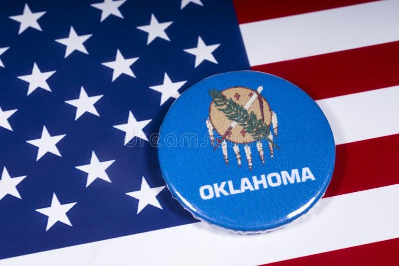 Estado de Oklahoma en los E.E.U.U. imagen de archivo