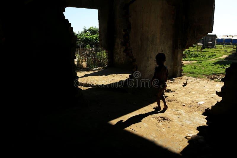 Download ESTADO DE RAKHINE, MYANMAR - 5 DE NOVIEMBRE: Los Centenares De Musulmanes Rohingya Están Sufriendo La Desnutrición Severa En Camp Fotografía editorial - Imagen de noviembre, myanmar: 64206877