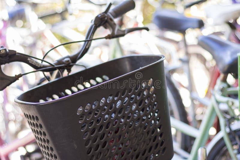 Estado de Tigre Buenos Aires/la Argentina 06/17/2014 Grupo de bicicletas en Tigre Buenos Aires la Argentina imágenes de archivo libres de regalías
