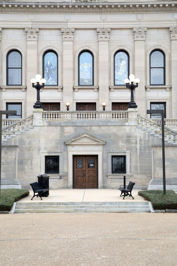 Estado del edificio del capitolio de Mississippi imágenes de archivo libres de regalías