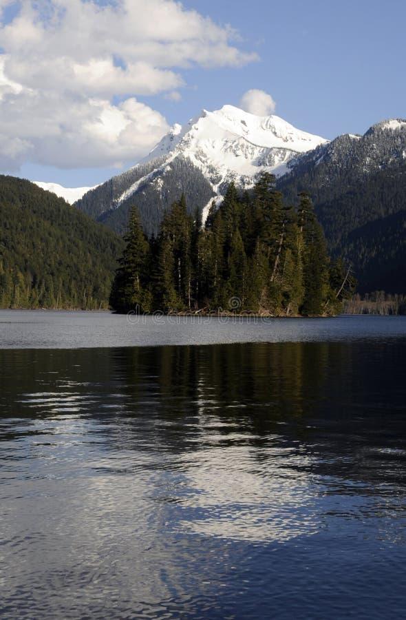 Estado del lago Packwood, Washington imagen de archivo libre de regalías
