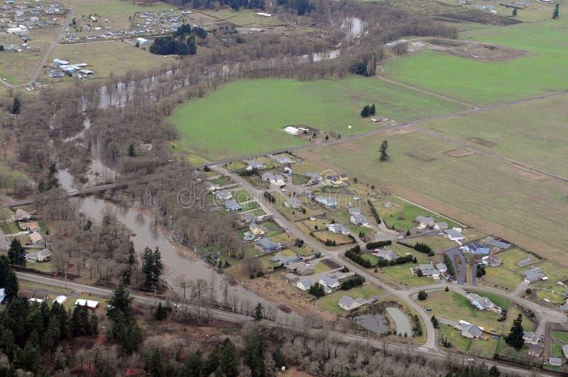 Estado do rio de Chehalis, Washington imagens de stock