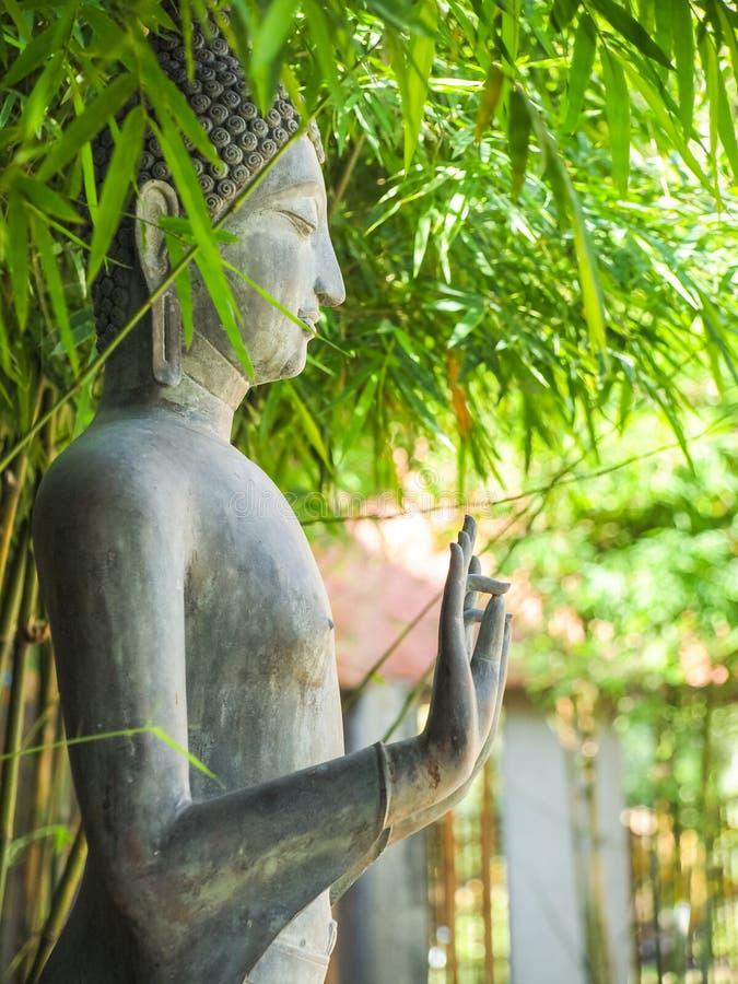 Estado ereto da Buda Pagode do estilo da imagem da Buda fotos de stock royalty free