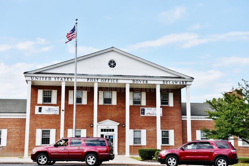 Estado EUA de delaware da estação de correios de Dôvar fotos de stock royalty free