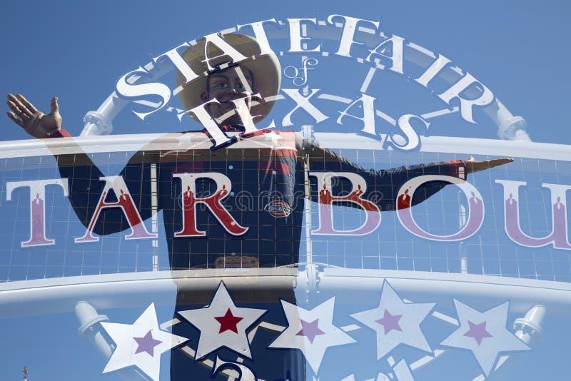 Estado Grande De Tex E De Texas Justo Imagem Editorial