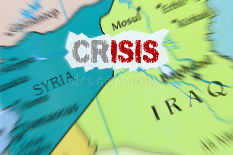 Estado islámico imagen de archivo libre de regalías