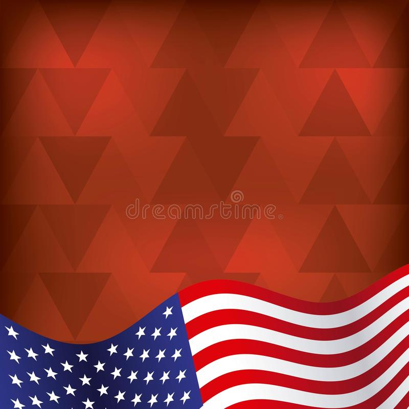 Estados Unidos diseñan libre illustration