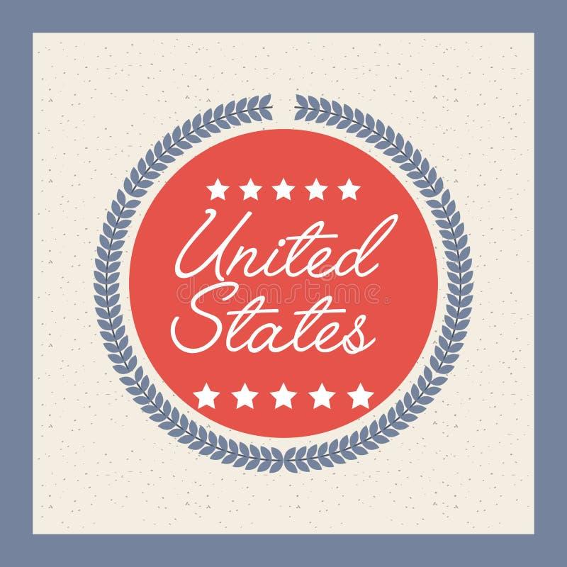 Estados Unidos diseñan libre illustration