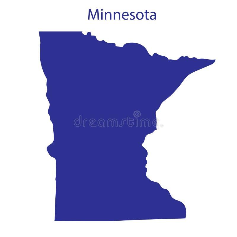 Estados Unidos, Minnesota stock de ilustración