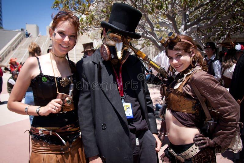 Estafa cómica 2011 de San Diego foto de archivo