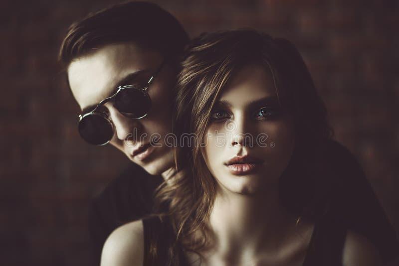 Estagnação de dois pessoas imagem de stock