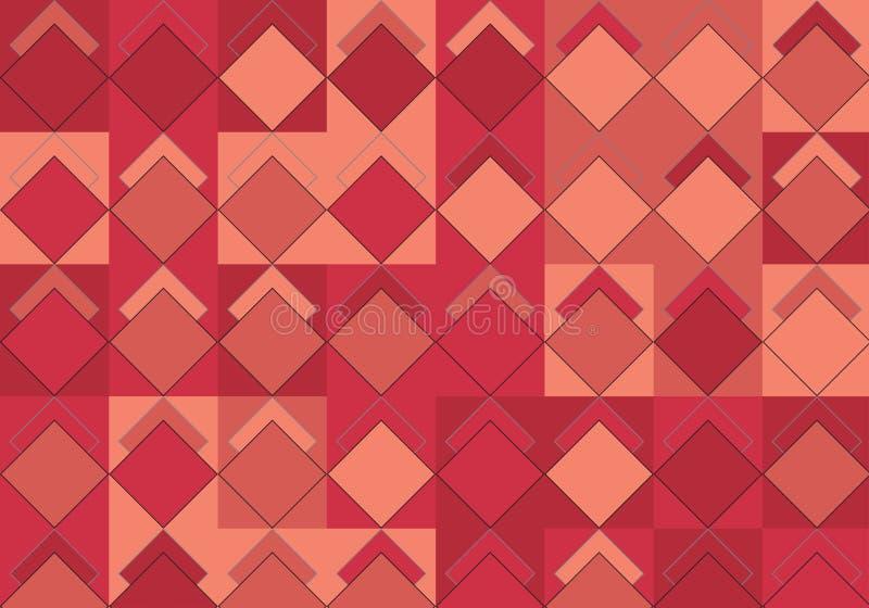 Estallido Art Rhombus Pattern stock de ilustración