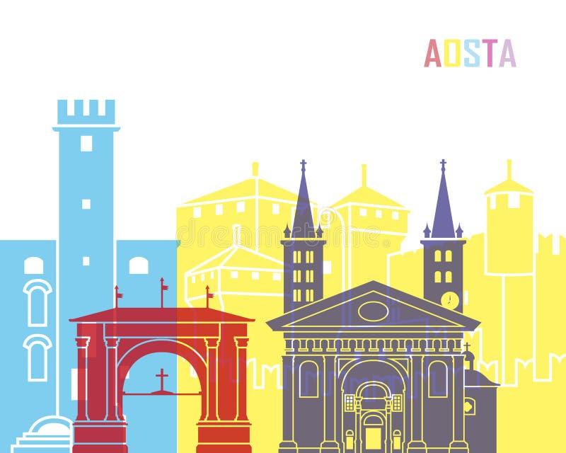 Estallido del horizonte de Aosta libre illustration