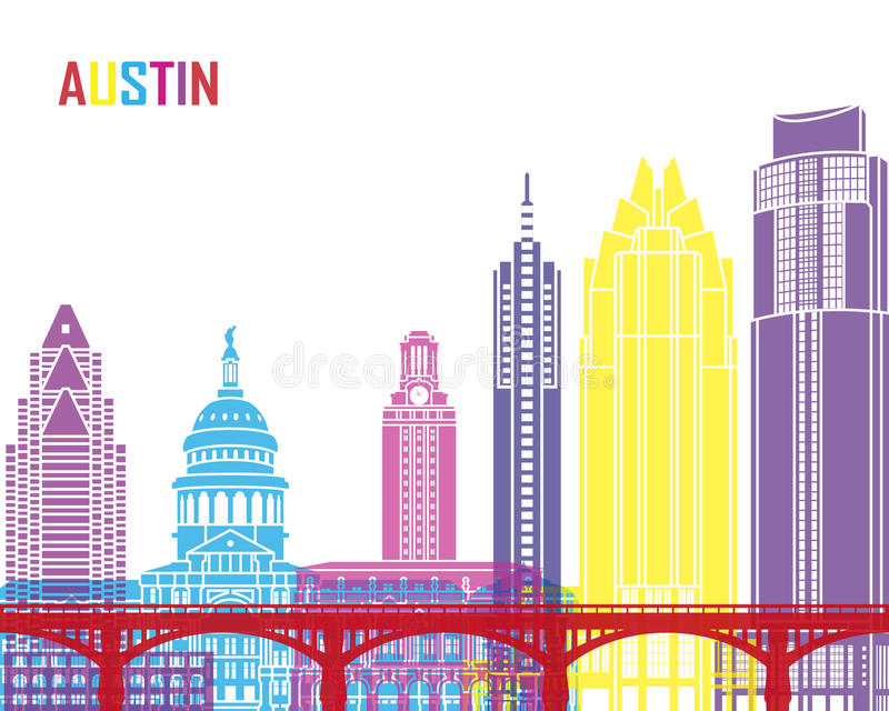 Estallido del horizonte de Austin libre illustration