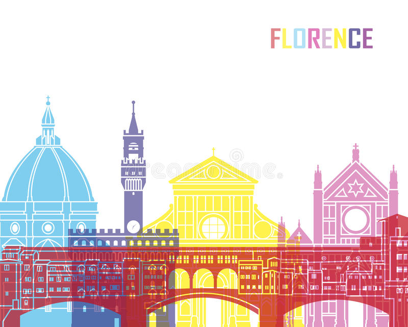 Estallido del horizonte de Florencia libre illustration