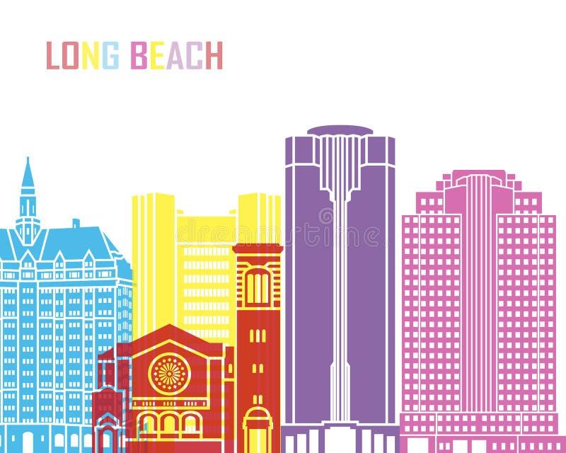 Estallido del horizonte de Long Beach V2 libre illustration