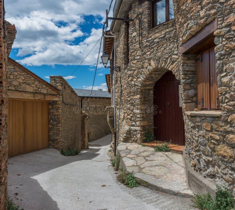 Estamariu, comarca του ALT Urgell, Lleida, Καταλωνία, Ισπανία στοκ φωτογραφίες