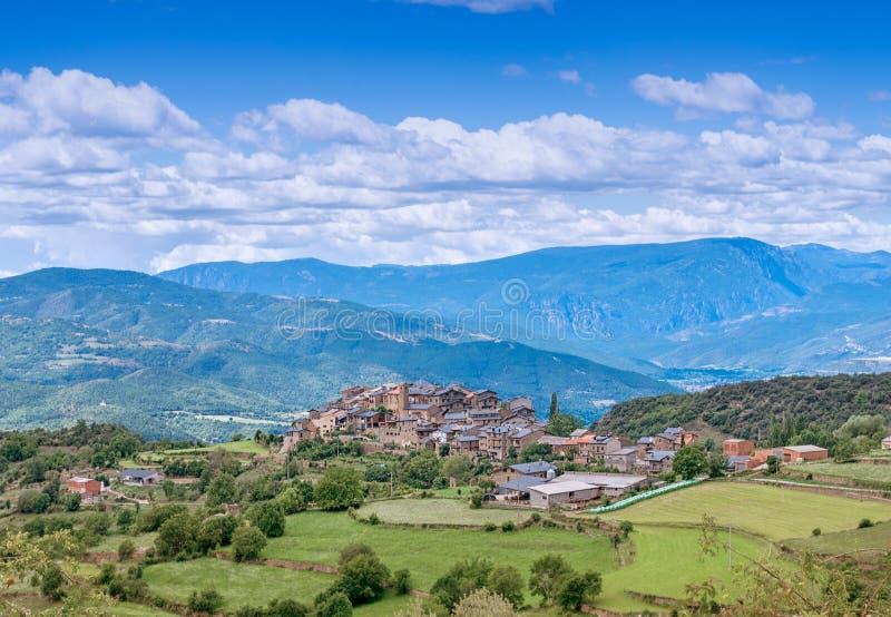 Estamariu, comarca of Alt Urgell, Lleida, Catalonia, Spain. stock images