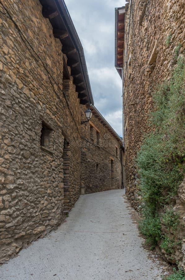 Estamariu, comarca of Alt Urgell, Lleida, Catalonia, Spain. stock photo