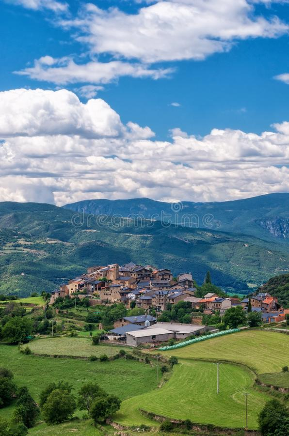 Estamariu, comarca of Alt Urgell, Lleida, Catalonia, Spain. royalty free stock image