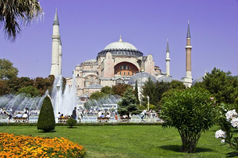 Estambul Aya-Sofía foto de archivo
