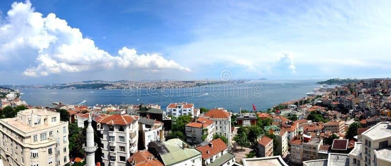 Estambul Bosphorus Turquía imagen de archivo libre de regalías