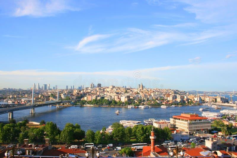 Estambul la capital de la cultura de Turquía foto de archivo