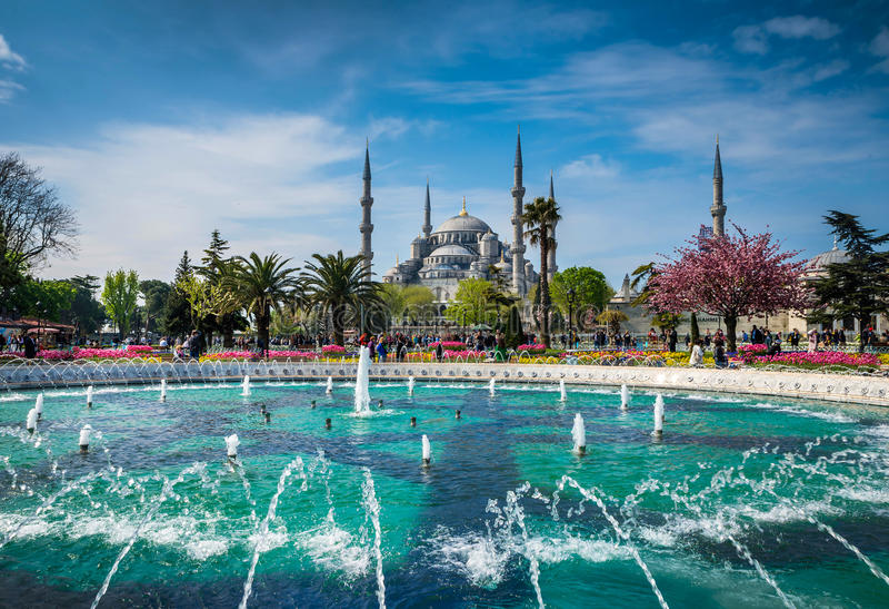 Estambul la capital de Turquía imágenes de archivo libres de regalías