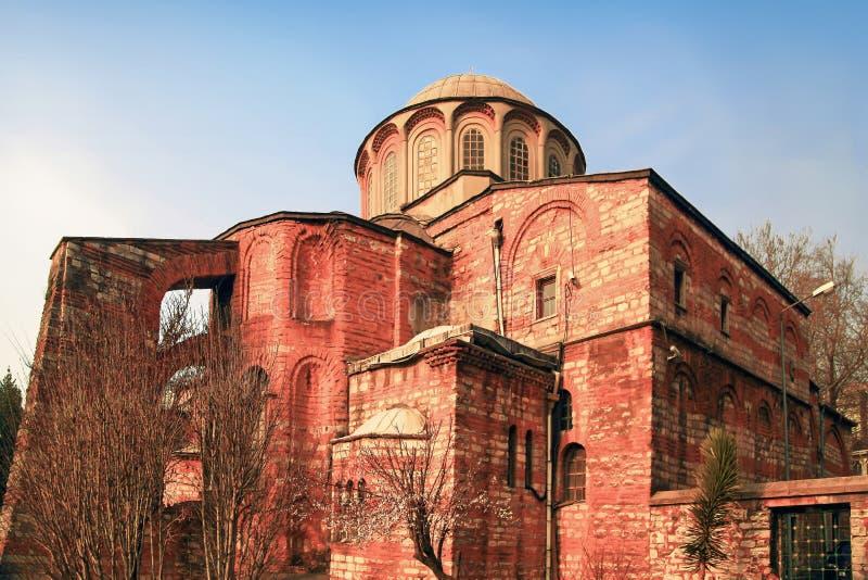 ESTAMBUL, TURQUÍA - 25 DE MARZO DE 2012: La iglesia de Cristo el salvador fotos de archivo
