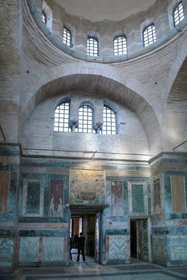 ESTAMBUL, TURQUÍA - 25 DE MARZO DE 2012: Mosaico en la iglesia de Cristo el salvador imagenes de archivo