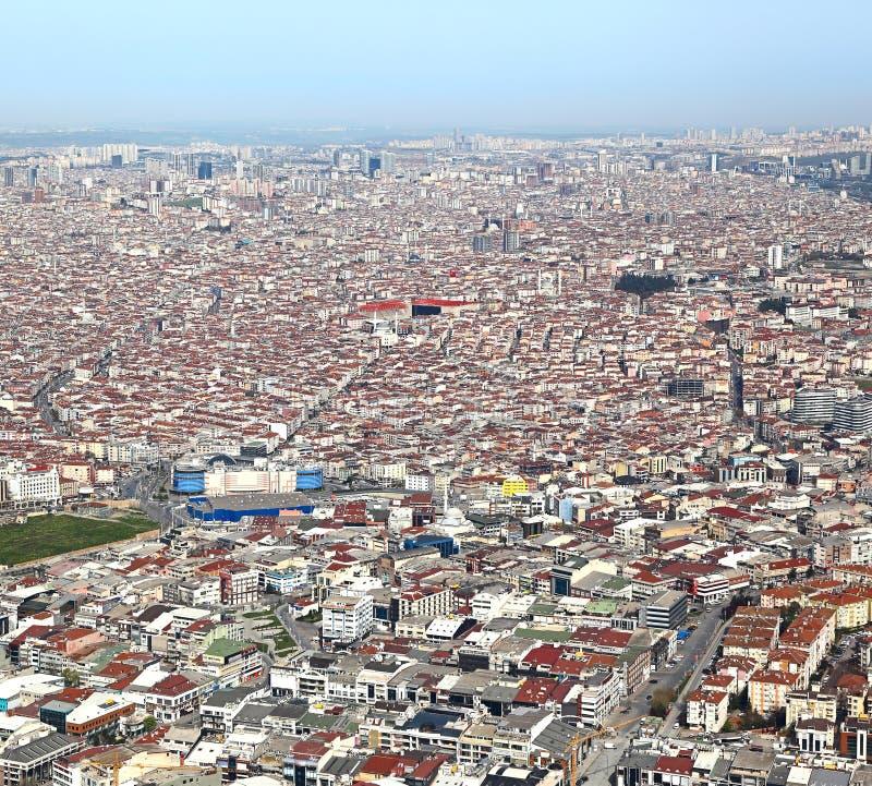 Estambul, visión aérea fotografía de archivo libre de regalías