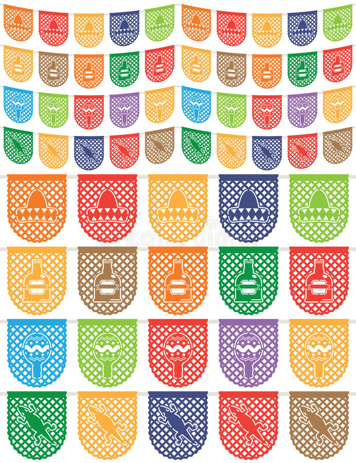 Estamenha mexicana ilustração royalty free