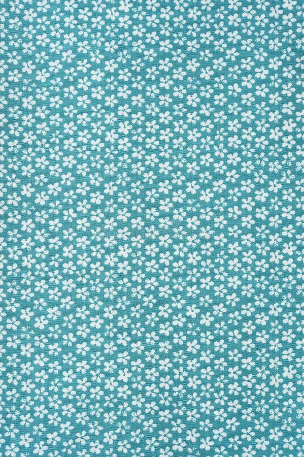Estampado de flores de la tela de la textura del fondo fotografía de archivo libre de regalías