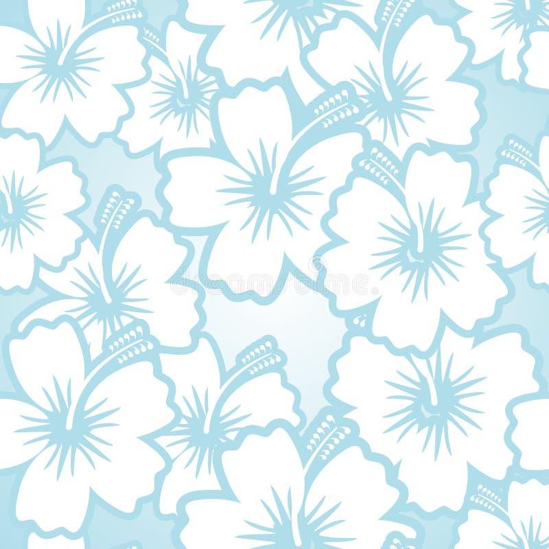 Estampado de flores del hibisco libre illustration