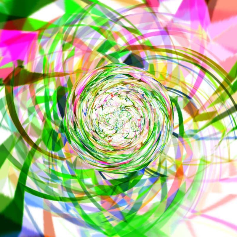 Estampado de plores multicolor de la tira fotografía de archivo libre de regalías