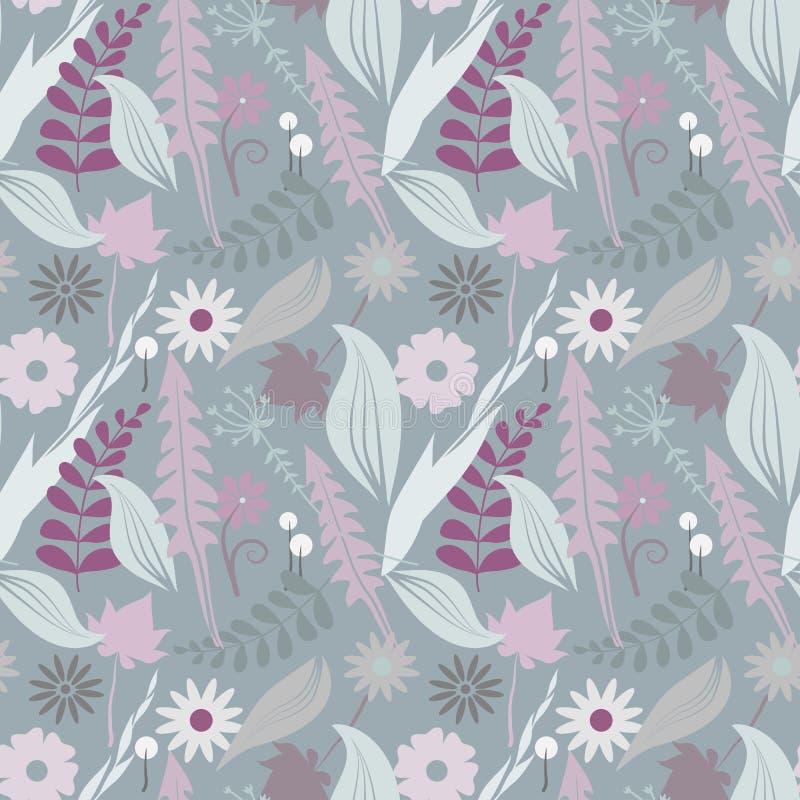 Estampados de flores inconsútiles del vector imagen de archivo
