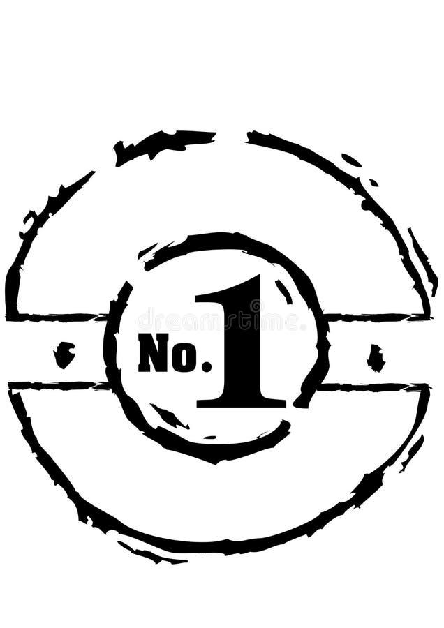 Estampage du sceau image libre de droits