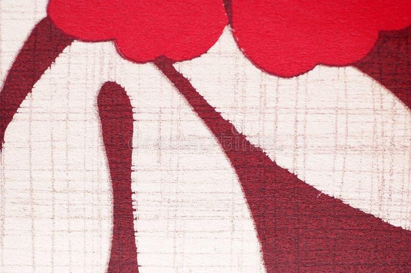 Estampez la configuration sur le tissu comme fond illustration de vecteur