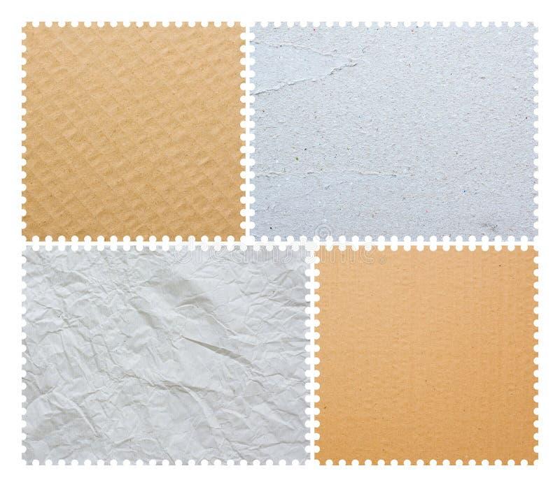 Estampille blanc de poteau photos stock