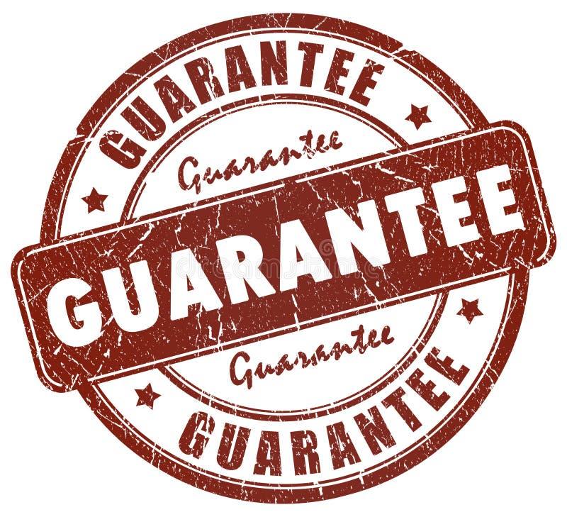 Estampille de garantie illustration libre de droits