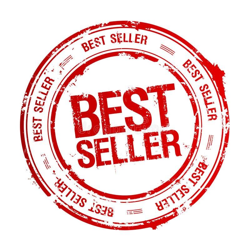 Estampille du best-seller. illustration libre de droits