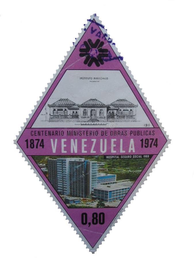 Download Estampille - Venezuela image stock. Image du isolez, macro - 299007