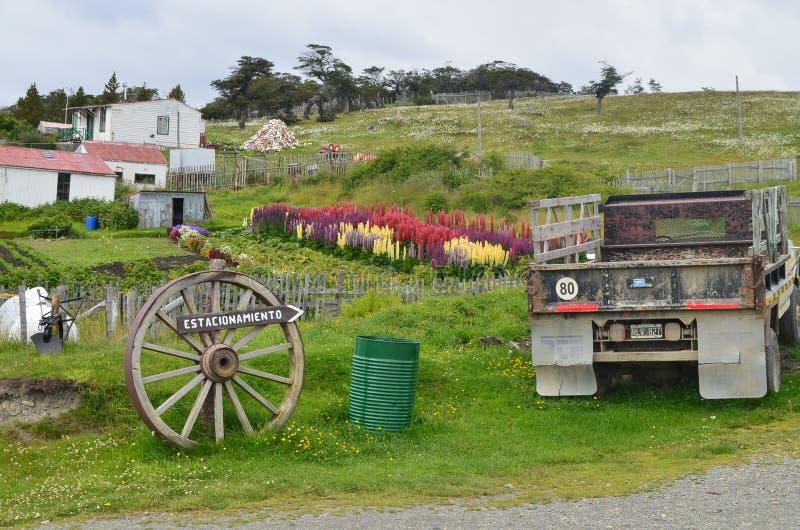 Estancia Harberton Tierra Del Fuego fotografia stock libera da diritti