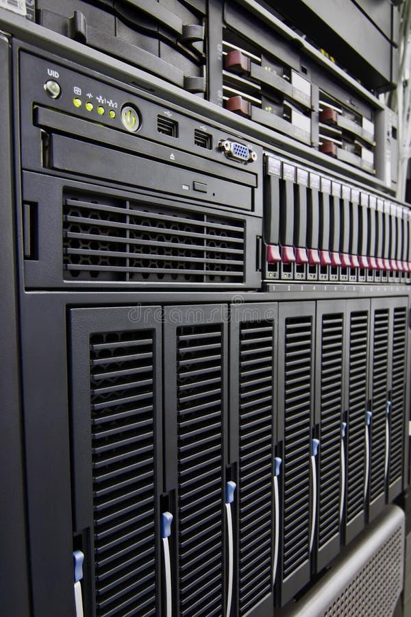 Estante del ordenador imagen de archivo libre de regalías