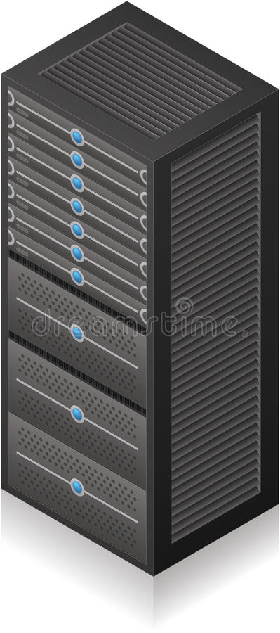 Estante del servidor libre illustration