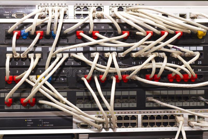 Estante del servidor foto de archivo