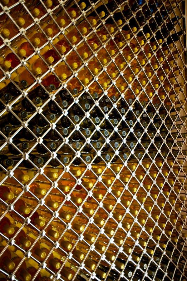 Estante del vino foto de archivo