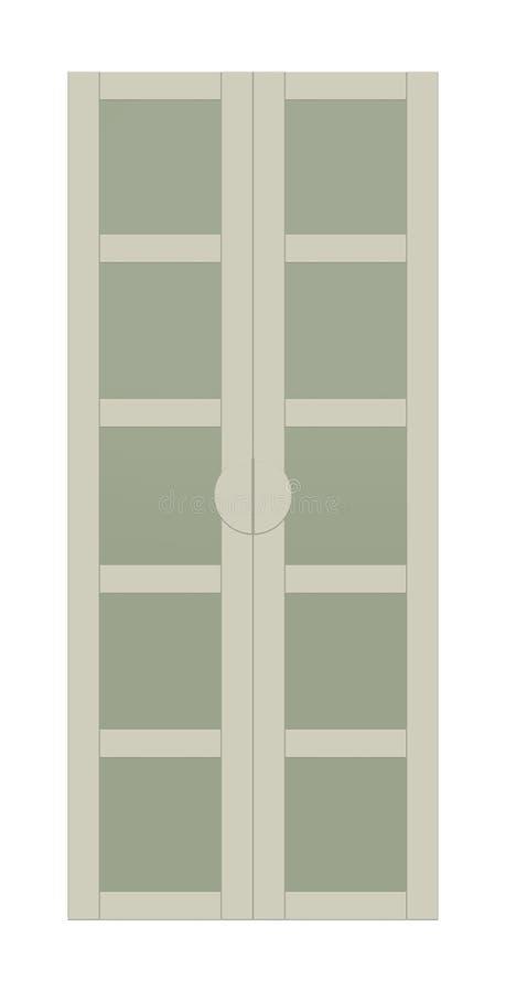 Estante para libros beige moderno libre illustration