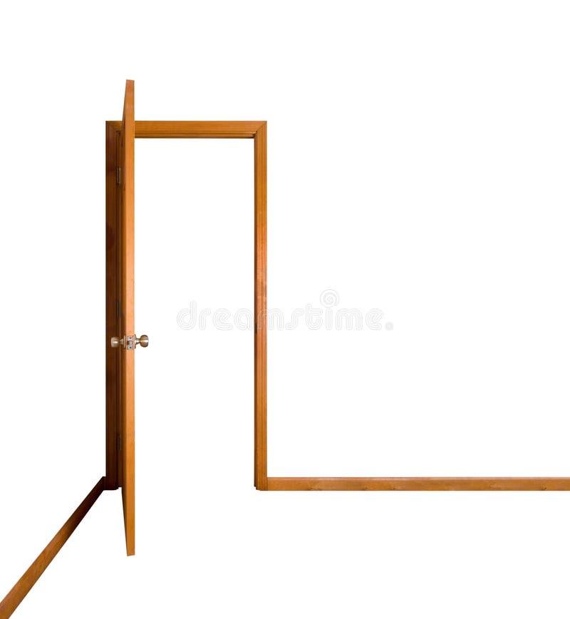 Estar aberto (trajeto de grampeamento) imagem de stock